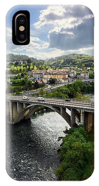 Sights From The Millennium Bridge IPhone Case