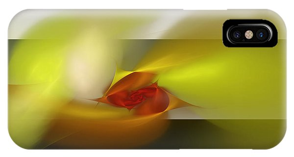 IPhone Case featuring the digital art Signals Through The Flames by Jeff Iverson