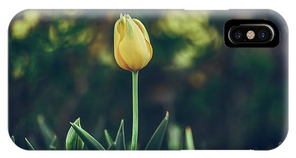 Silence Is Golden IPhone Case