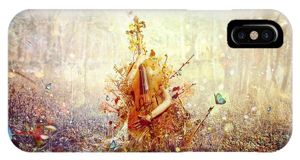 Fairytales iPhone Case - Silence by Mario Sanchez Nevado