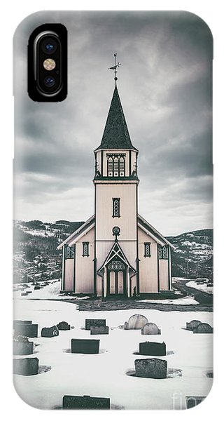 Cemetery iPhone Case - Silent Prayers by Evelina Kremsdorf