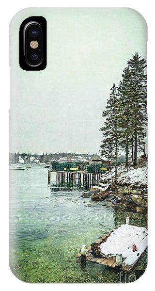 New England Coast iPhone Case - Silent Season by Evelina Kremsdorf