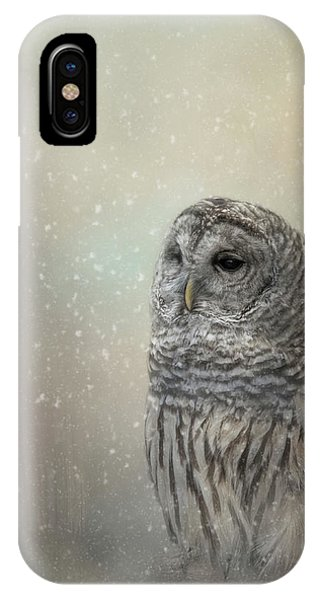 Silent Snow Fall IPhone Case