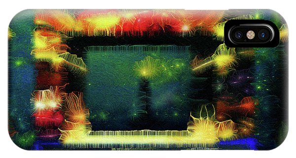 IPhone Case featuring the digital art Silk-featherbrush Number 4 - All-night Vigil At The Lighthouse Blues Club by Aberjhani