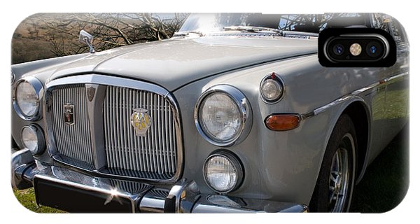 Silver Rover P5b 3.5 Ltr IPhone Case