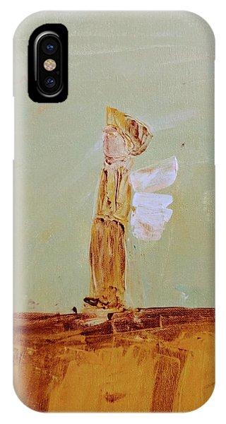 Simply Sweet Angel Boy IPhone Case