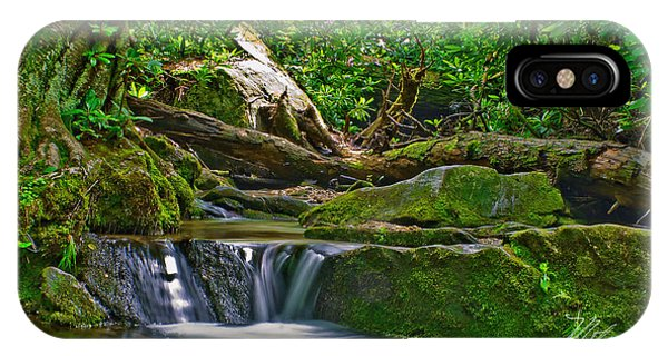 Sims Creek Waterfall IPhone Case