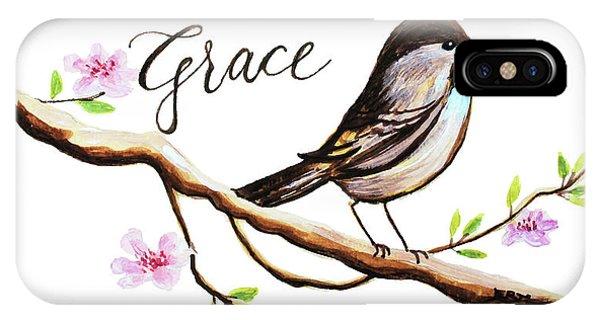 Gardens iPhone Case - Sing Grace by Elizabeth Robinette Tyndall