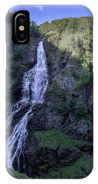 IPhone Case featuring the photograph Sivlefossen, Norway by Andreas Levi