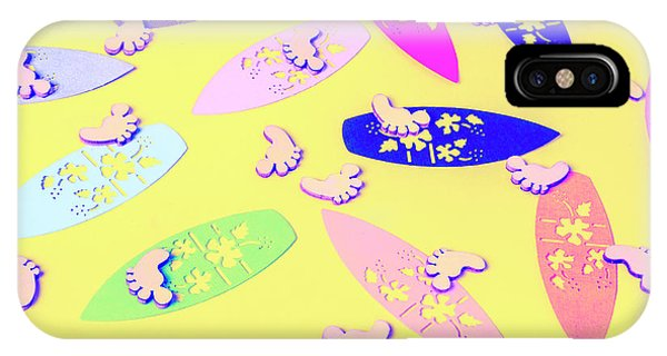 Surfboard iPhone Case - Sixties Surf by Jorgo Photography - Wall Art Gallery