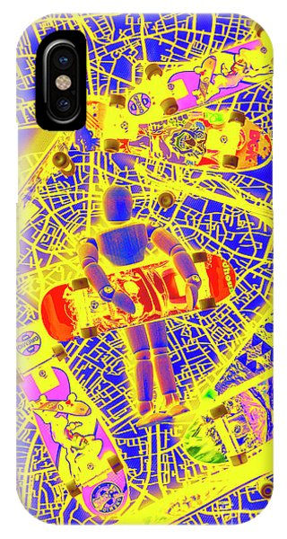 Pop-culture iPhone Case - Skate City by Jorgo Photography - Wall Art Gallery