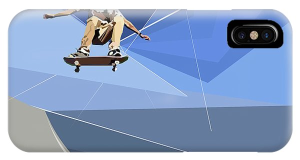 Skateboarder IPhone Case