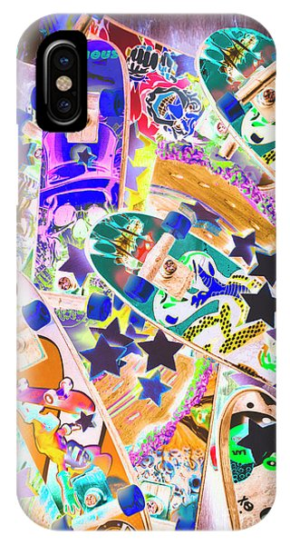 Pop-culture iPhone Case - Skating Stars by Jorgo Photography - Wall Art Gallery