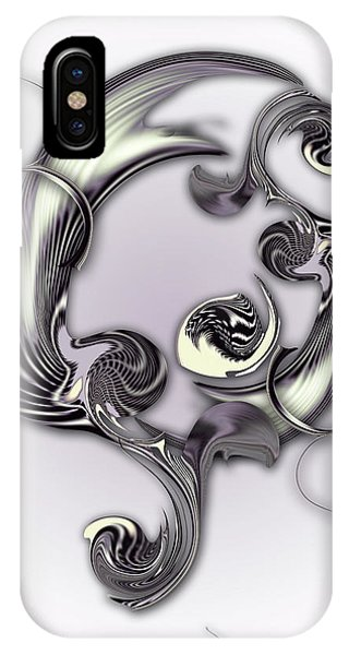 Sketch Of Inverse Poetry IPhone Case