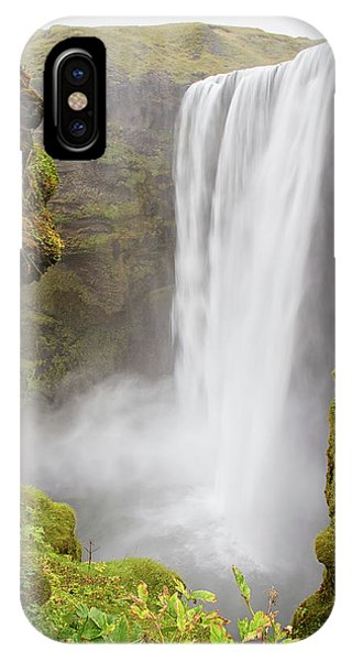IPhone Case featuring the photograph Skogafoss Iceland by Nathan Bush