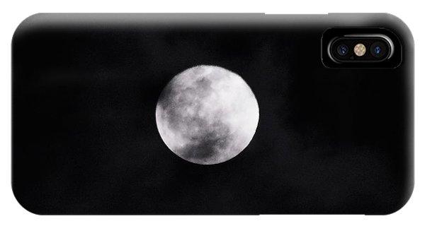 Skull Moon IPhone Case