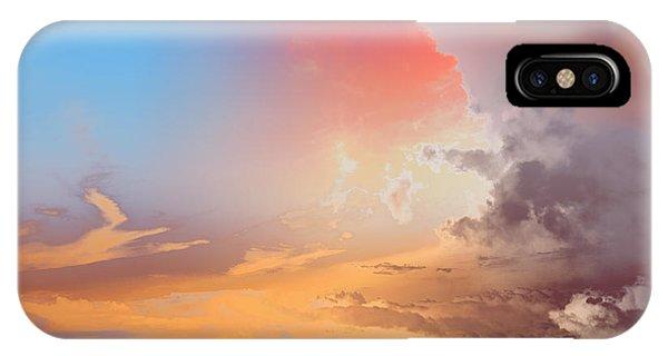 Sky Fight IPhone Case