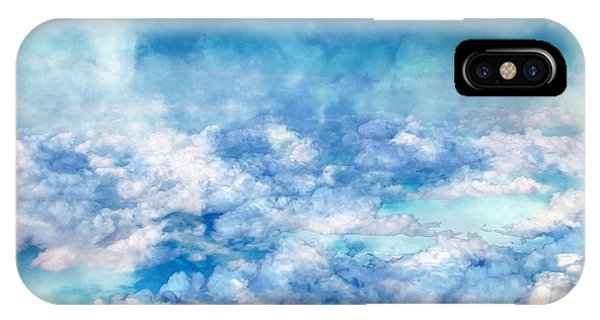 Sky Moods - A View From Above IPhone Case
