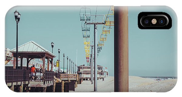 IPhone Case featuring the photograph Sky Ride by Steve Stanger