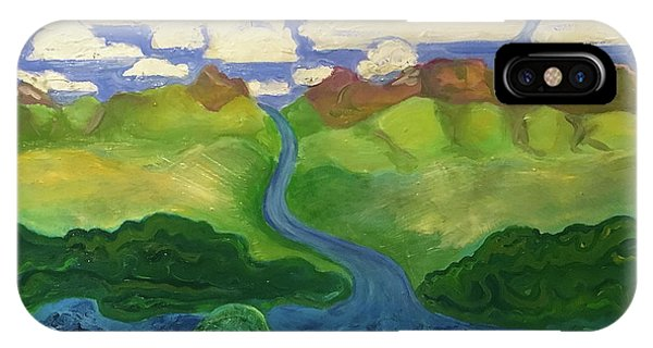 Sky River To Sea IPhone Case