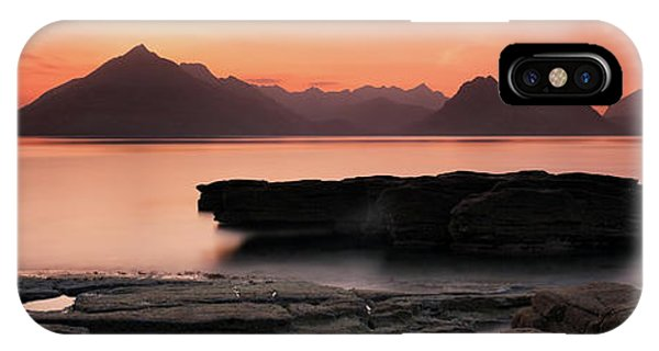IPhone Case featuring the photograph Skye Sunset by Grant Glendinning