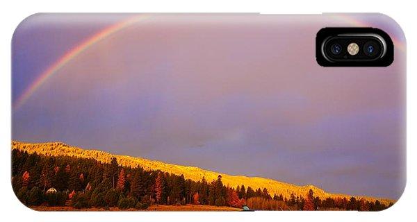 Skylane Rainbow IPhone Case