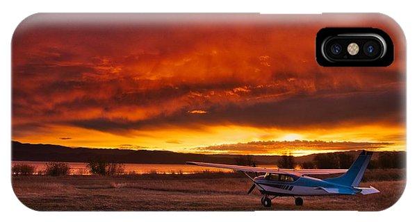 Skylane Sunrise IPhone Case