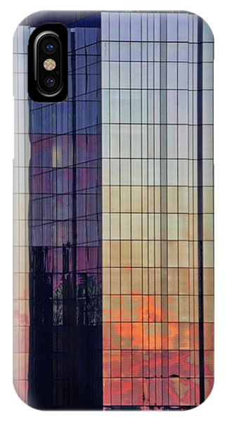 Skyscraper Sunset IPhone Case