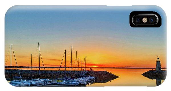 Sleeping Yachts IPhone Case