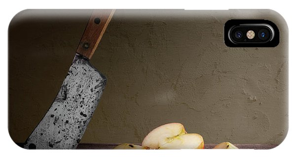 Cutting iPhone Case - Slice And Dice by Tom Mc Nemar