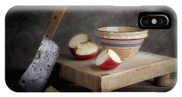 Cutting iPhone Case - Sliced Apple by Tom Mc Nemar