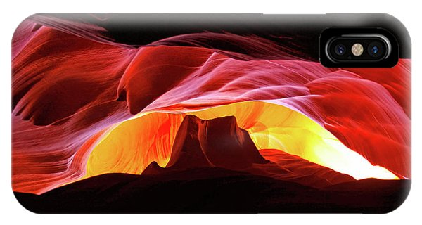 Slot Canyon Mountain IPhone Case