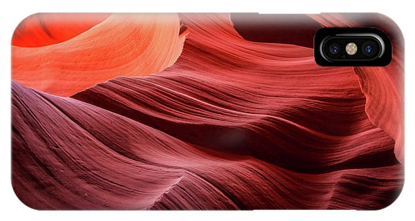 Slot Canyon Waves 2 IPhone Case