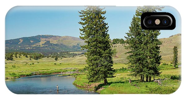 Yellowstone National Park iPhone Case - Slough Creek by Todd Klassy