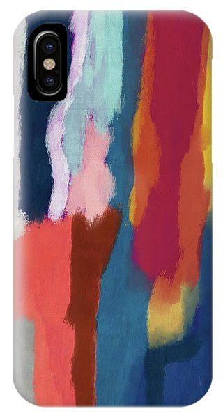 Organic Abstraction iPhone Case - Slow Burn 2- Abstract Art By Linda Woods by Linda Woods