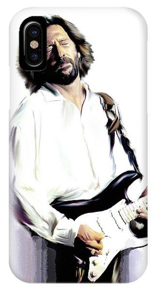 Slow Hand  Eric Clapton IPhone Case