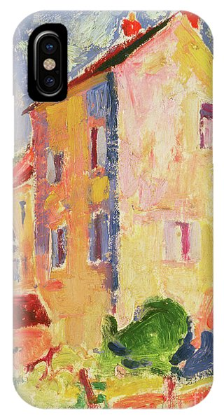 Fauvism iPhone Case - Small House  by Alfred Henry Maurer