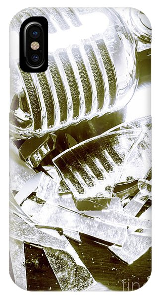 Hit iPhone Case - Smash Hit by Jorgo Photography - Wall Art Gallery