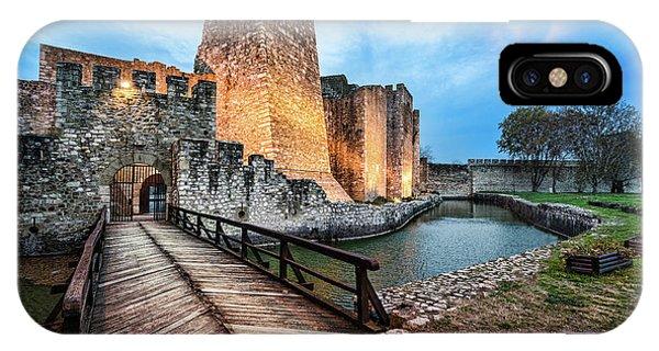 Smederevo Fortress Gate And Bridge IPhone Case