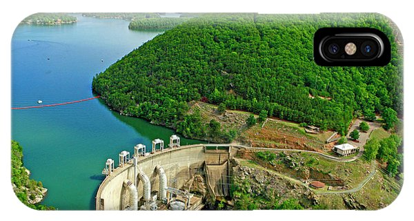 Smith Mountain Lake Dam IPhone Case