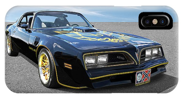 Smokey And The Bandit Trans Am IPhone Case