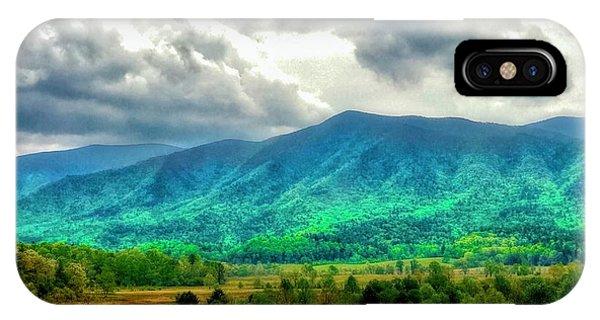 Smoky Mountain Farm Land IPhone Case