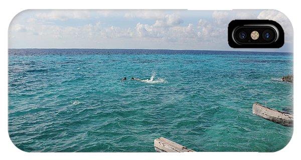 Snorkeling IPhone Case