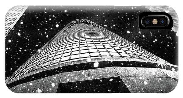 Digital Image iPhone Case - Snow Collection Set 01 by Az Jackson