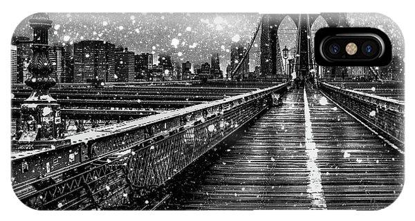 Digital Image iPhone Case - Snow Collection Set 05 by Az Jackson