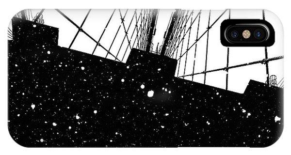 Digital Image iPhone Case - Snow Collection Set 06 by Az Jackson