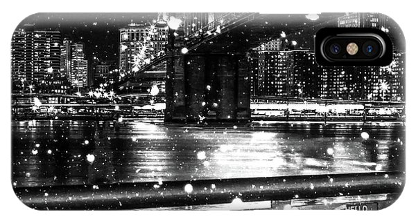 Digital Image iPhone Case - Snow Collection Set 09 by Az Jackson