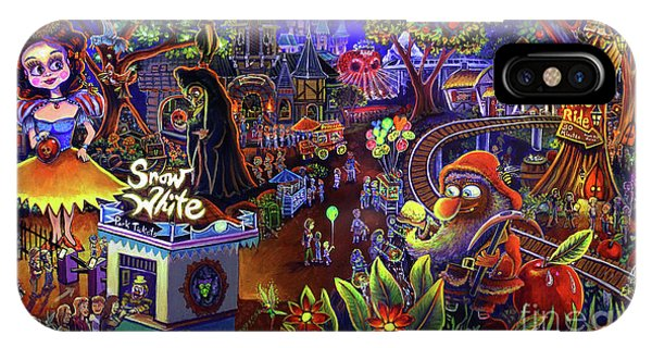 Snow White Amusement Park IPhone Case