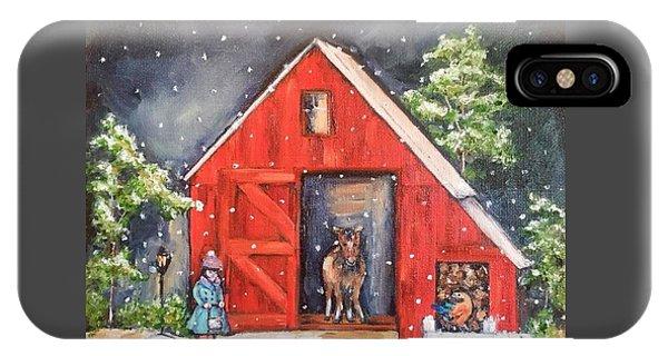 iPhone Case - Snowy Days by Stephanie Callsen