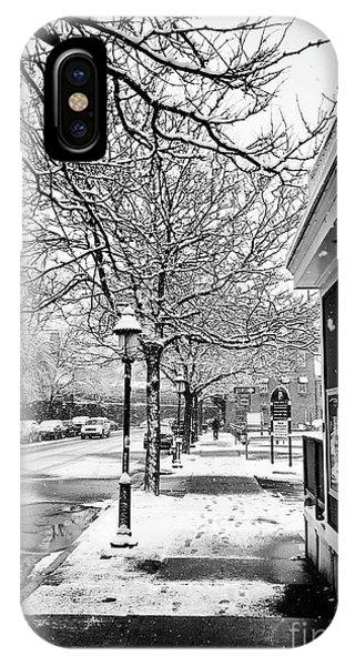 Snowy Northampton, Ma, Part 1 Phone Case by JMerrickMedia